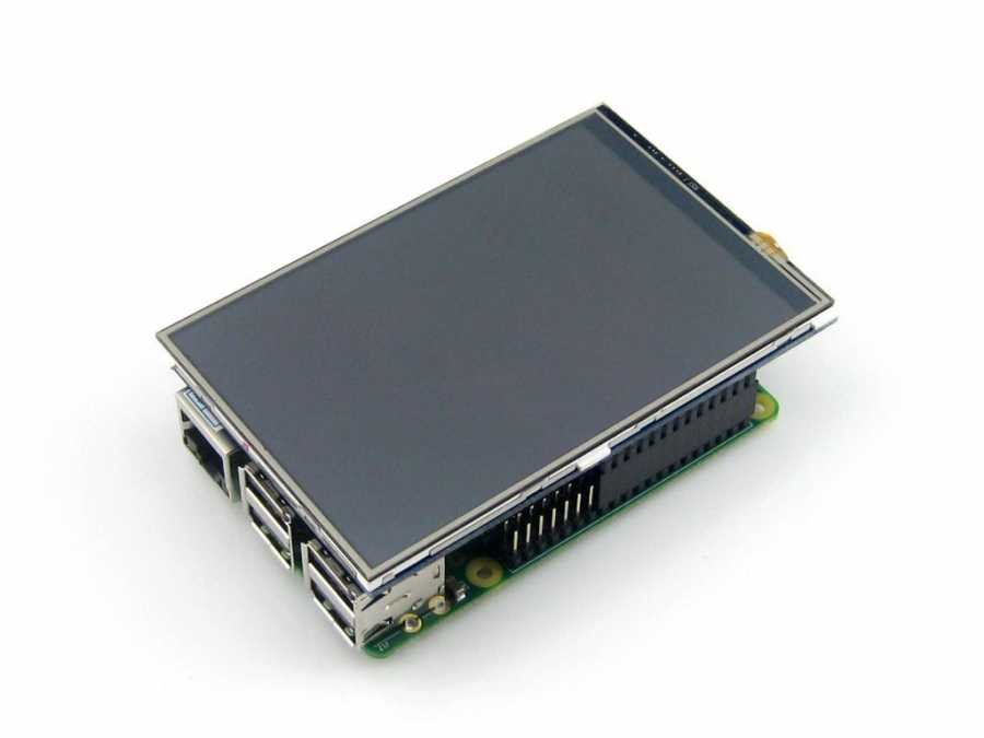 4inch RPi LCD (A), 320×480, IPS -WaveShare-
