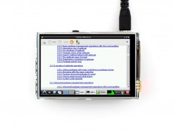 Raspberry 3.5inch LCD (A), 320×480 -WaveShare- - Thumbnail