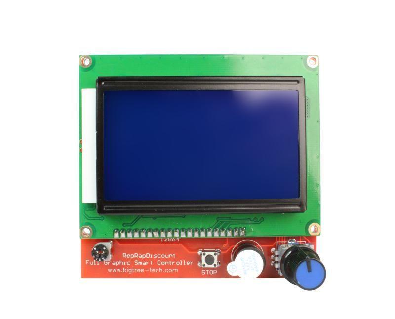 3D Yazıcı LCD Ekran 128x64 Reprap Ramps 1.4
