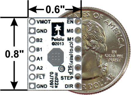DRV8834 Düşük Voltaj Step Motor Sürücü Taşıyıcı - drv8834 stepper motor driver - pololu - #2134