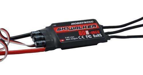 skywalker 80a Esc Fırçasız Motor Hız kontrol Sürücü devresi