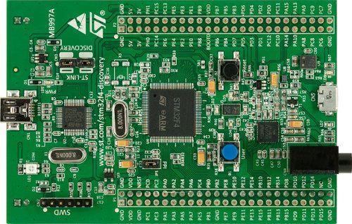 Stm32f4 discovery development board