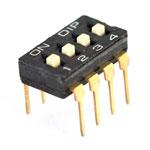 4-Pin Entegre Tipi Dip Switch
