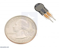 0.25'' Kuvvete Duyarlı Dairesel Sensör - pololu - #2727 - Thumbnail