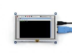 Raspberry Pi 5 Inch HDMI Lcd (B) Ekran 800×480 Geniş Platform Desteği -WaveShare- - Thumbnail