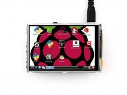Raspberry Pi 3.5 Inch Lcd Ekran (A) 320×480 -WaveShare- - Thumbnail
