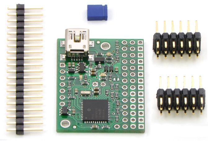 12 Kanal USB Servo Motor Kontrol Devresi - Pololu