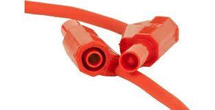 4mm / 25cm Korumalı Test Kablosu Kırmızı