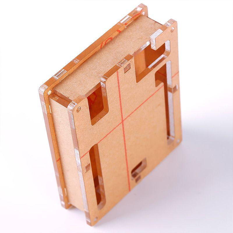 Arduino Uno Şeffaf Kutu