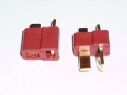 Deans Ultra Plug 40-80A Li-Po Konnektör - Thumbnail