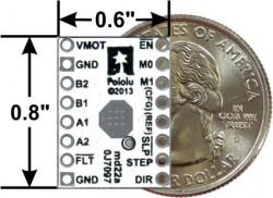 DRV8834 Düşük Voltaj Step Motor Sürücü Taşıyıcı - drv8834 stepper motor driver - pololu - #2134 - Thumbnail