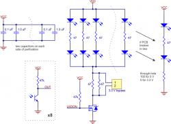 QTR-8A Analog Kızılötesi Sensör Devresi / 8'li Analog Çizgi Sensörü Pololu - Thumbnail