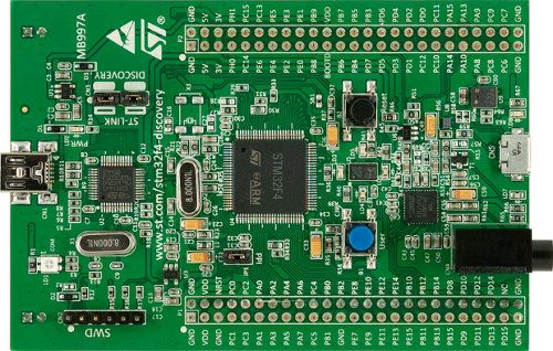 Stm32f4 discovery development board