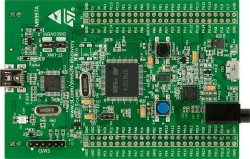 Stm32f4 discovery development board - Thumbnail