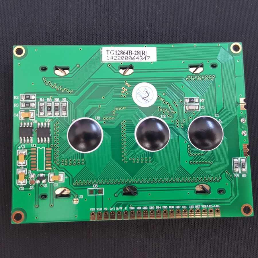 128x64 Grafik Lcd Ekran Mavi (TG12864B-28 )