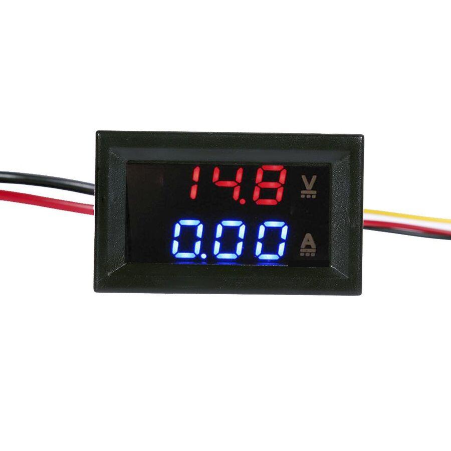 0-100V / 0-10A - Dijital Voltampermetre