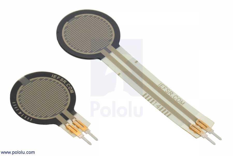 0.6 inç Kuvvete Duyarlı Dairesel Sensör