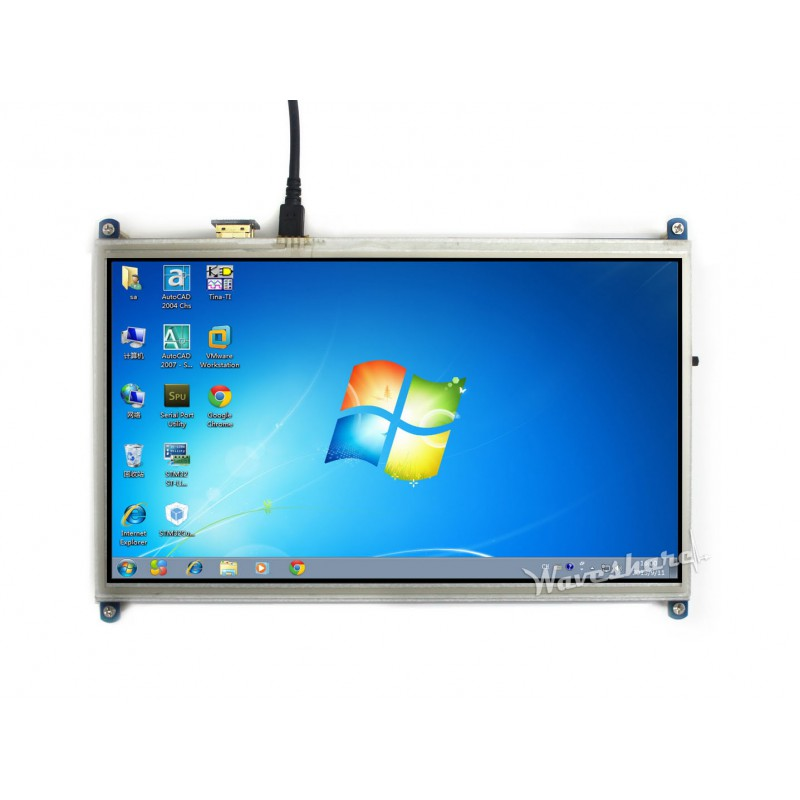 10.1 inç HDMI Lcd Ekran 1024x600