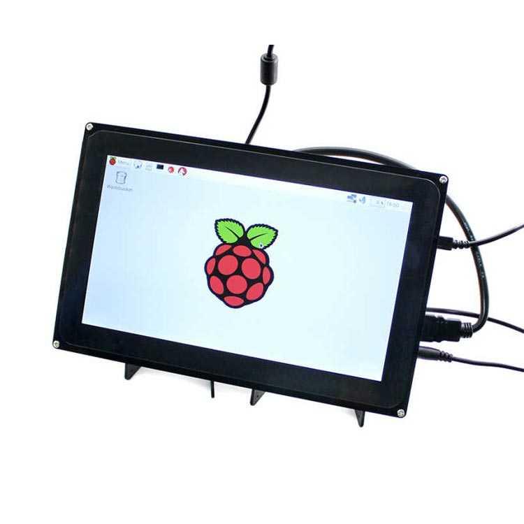 10.1 Inch HDMI LCD Ekran (H) - Muhafazalı - 1024x600