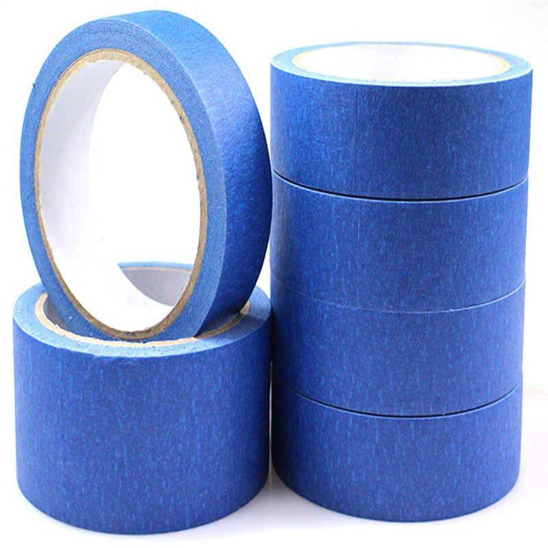100 mm X 30 M Mavi Bant Ressamlar baskı Maskeleme Aracı Reprap 3D Yazıcı
