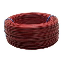 Çok Damarlı Montaj Kablosu 0.22mm 100 Metre Kırmızı - Thumbnail