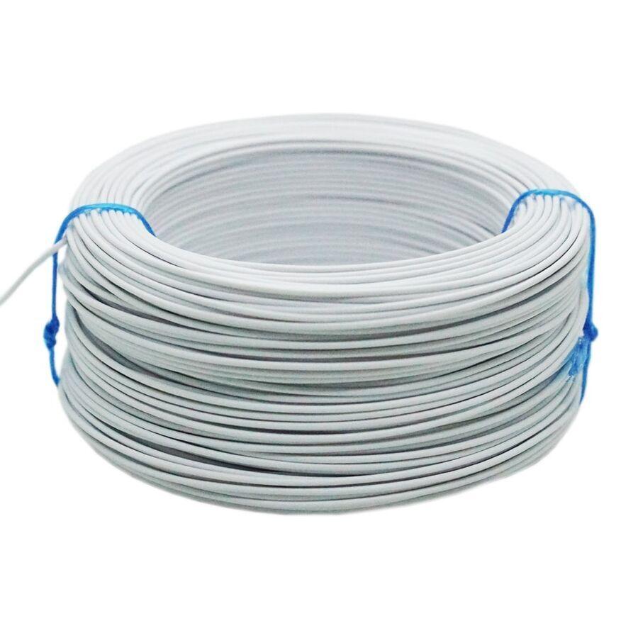 Tek Damarlı Montaj Kablosu 0.5mm 100 Metre Beyaz