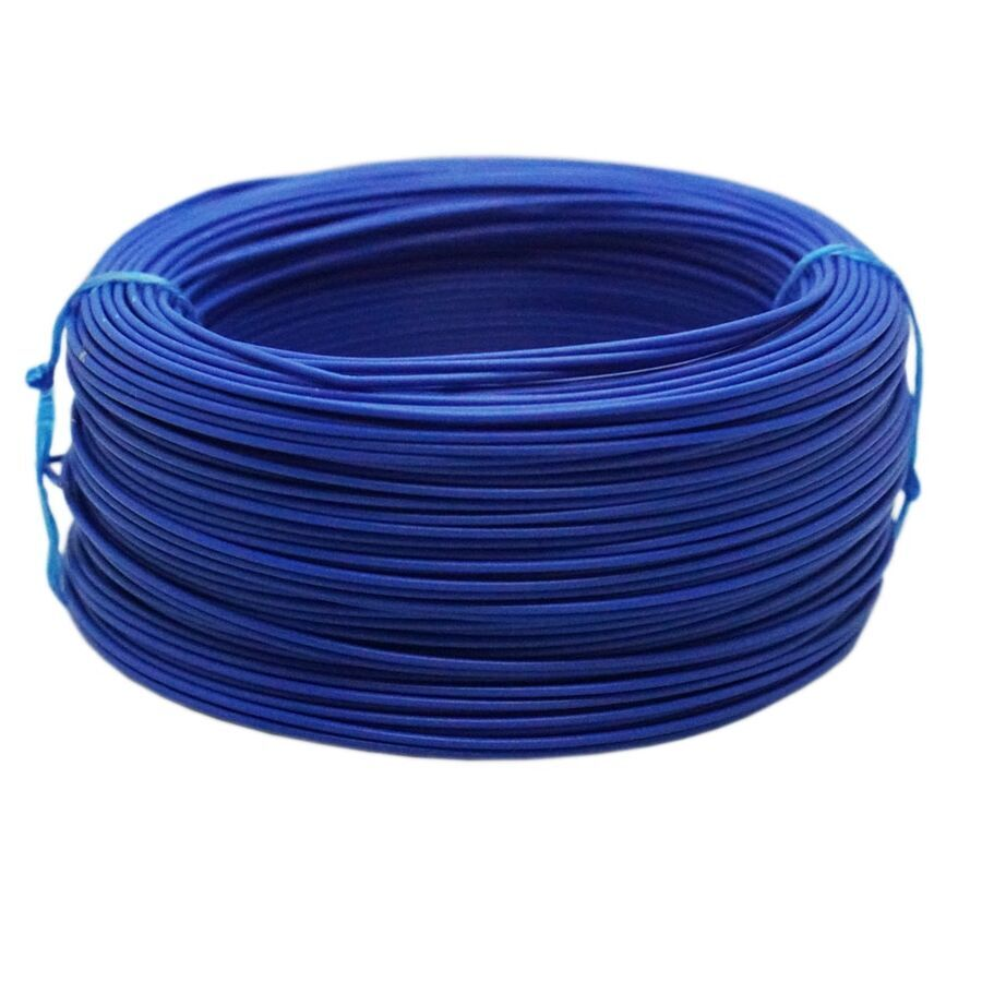 Tek Damarlı Montaj Kablosu 0.5mm 100 Metre Mavi