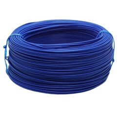 Tek Damarlı Montaj Kablosu 0.5mm 100 Metre Mavi - Thumbnail