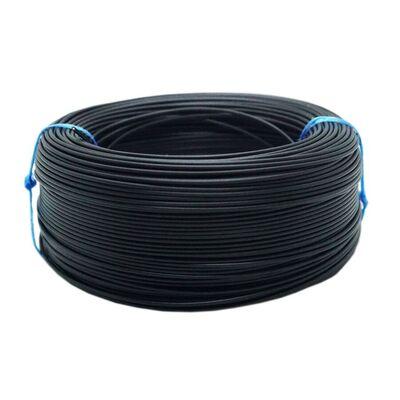 Tek Damarlı Montaj Kablosu 0.5mm 100 Metre Siyah