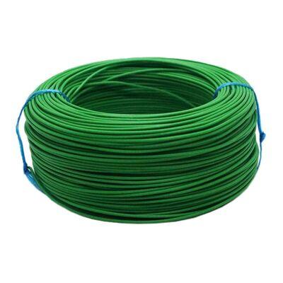 Tek Damarlı Montaj Kablosu 0.5mm 100 Metre Yeşil