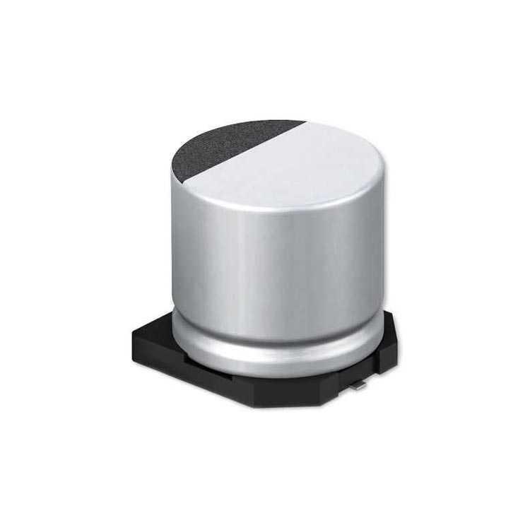 100uF 63V SMD Elektrolitik Kondansatör 10x10mm 2000Hrs 105C