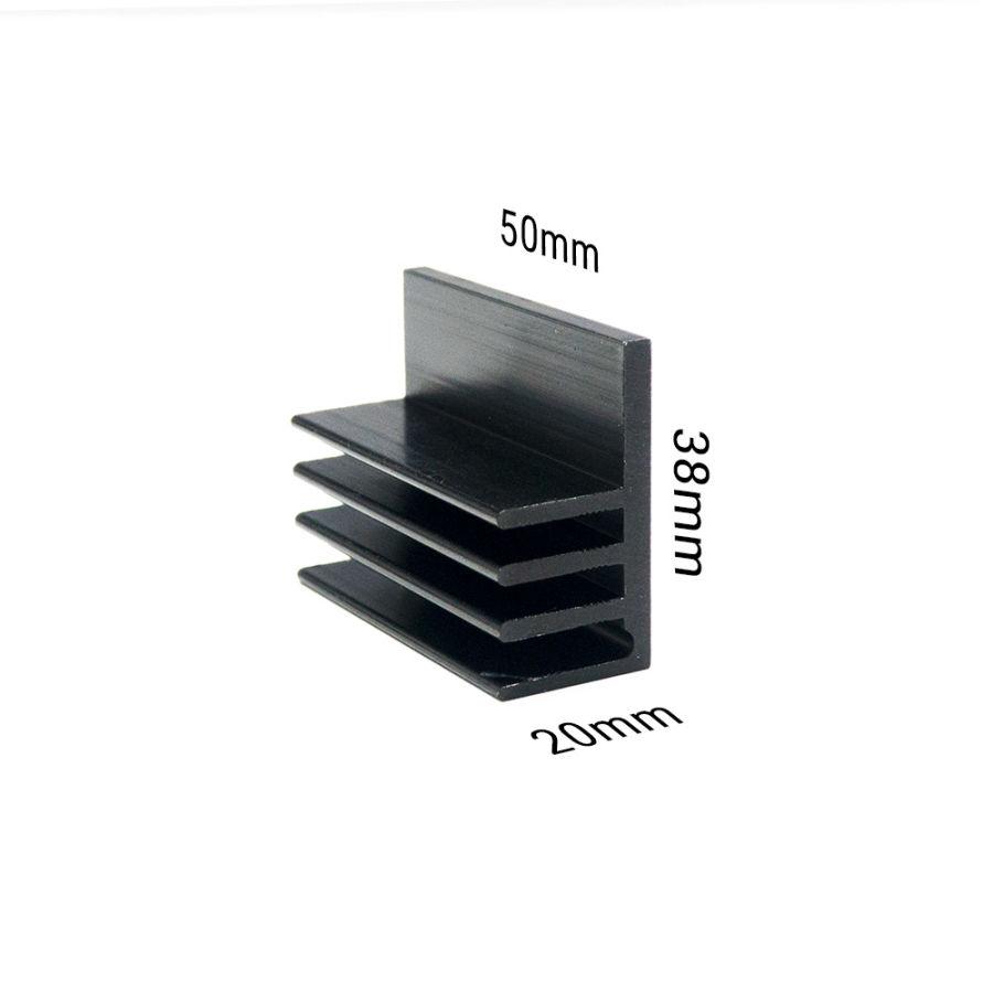 10ASY Alüminyum Soğutucu - 50mm