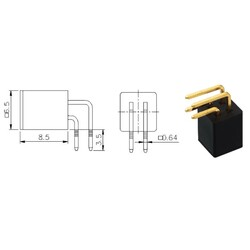 10mA 5V Tht Anahtarlama Sensörü - Thumbnail