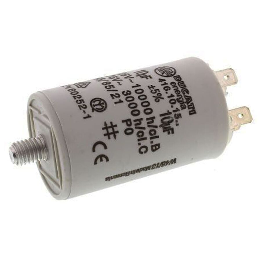 10uF 475VAC Polyester Capacitor 12mm 36x58mm