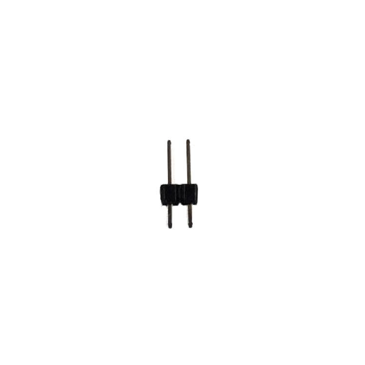 11.54mm 2 Pin (1x2) 2.54mm Erkek Pin Header