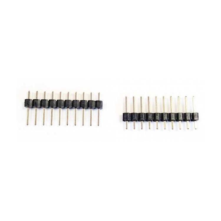 11.60mm 10 Pin (1x10) 2.54mm Erkek Pin Header