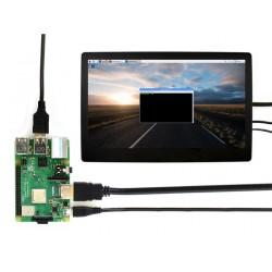 11.6inch HDMI LCD Ekran - Muhafazalı - 1920x1080-IPS - Raspberry Pi Uyumlu - Thumbnail