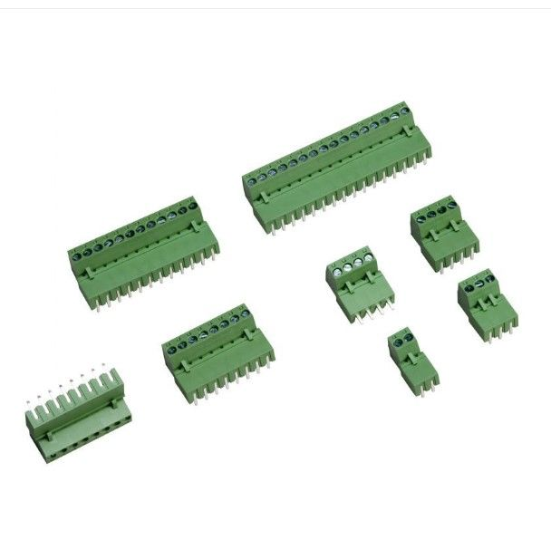9 Pin 3.81mm Dişi Yeşil Klemens