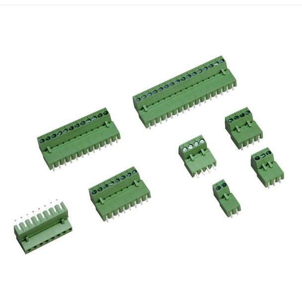 9 Pin 90C 3.81mm Erkek Geçmeli Yeşil Klemens