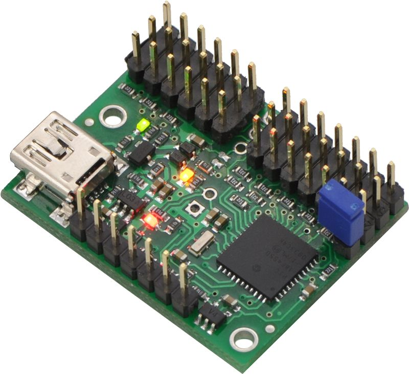12 Kanal USB Servo Motor Kontrol Devresi