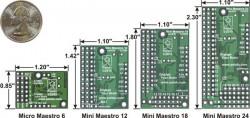 12 Kanal USB Servo Motor Kontrol Devresi - Thumbnail