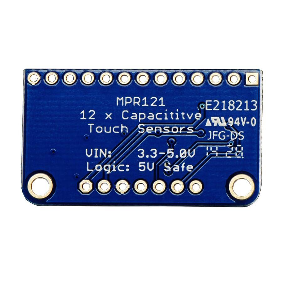MPR121 - 12 Anahtarlı Kapasitif Dokunmatik Sensör Breakout Kartı
