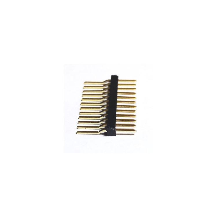 12 Pin (1x12) 1.27mm Erkek Pin Header