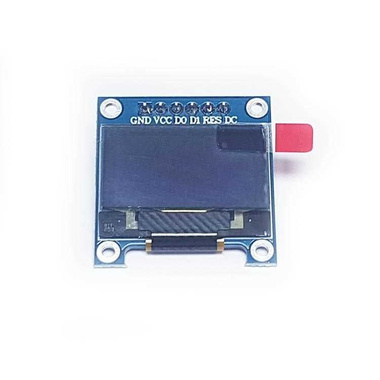 128x64 0.96 inç OLED Grafik Ekran 6 Pin I2C-SPI