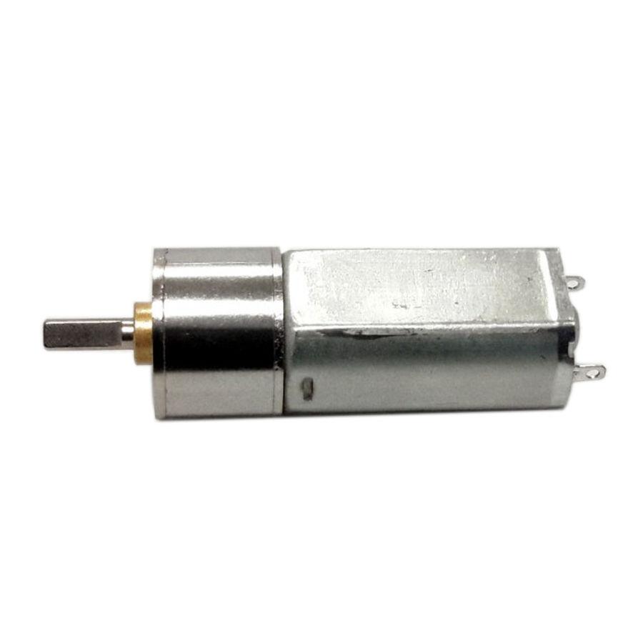 12V 1000RPM 16mm Redüktörlü Motor