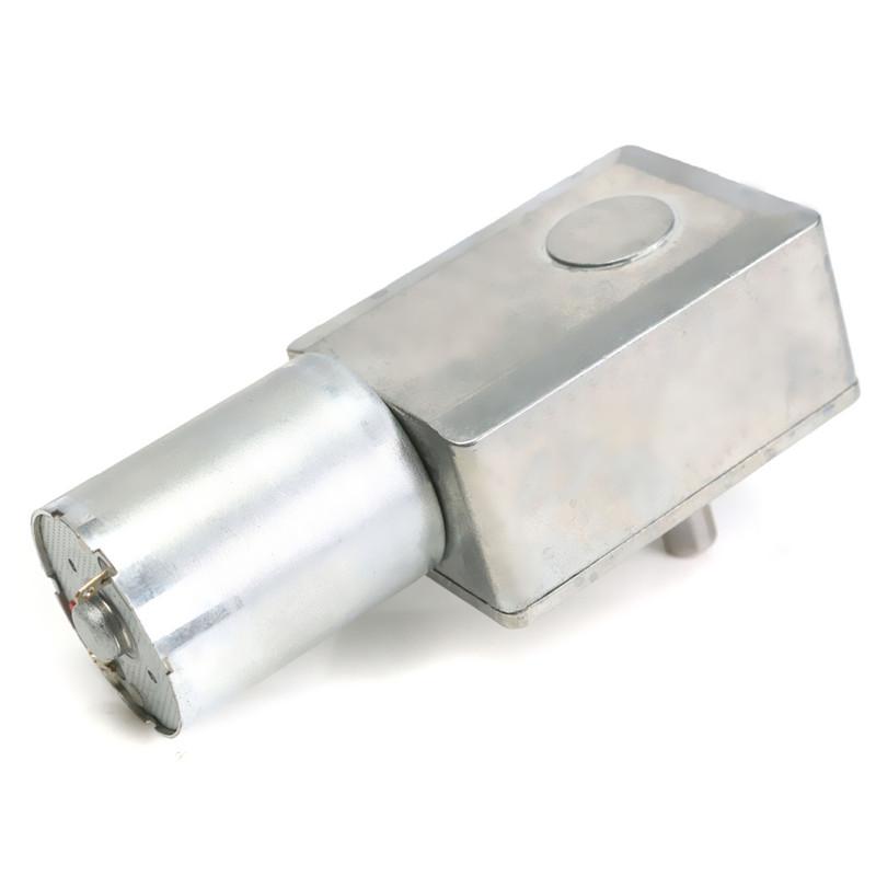 12V 100RPM 90 Derece Redüktörlü Motor (90C)