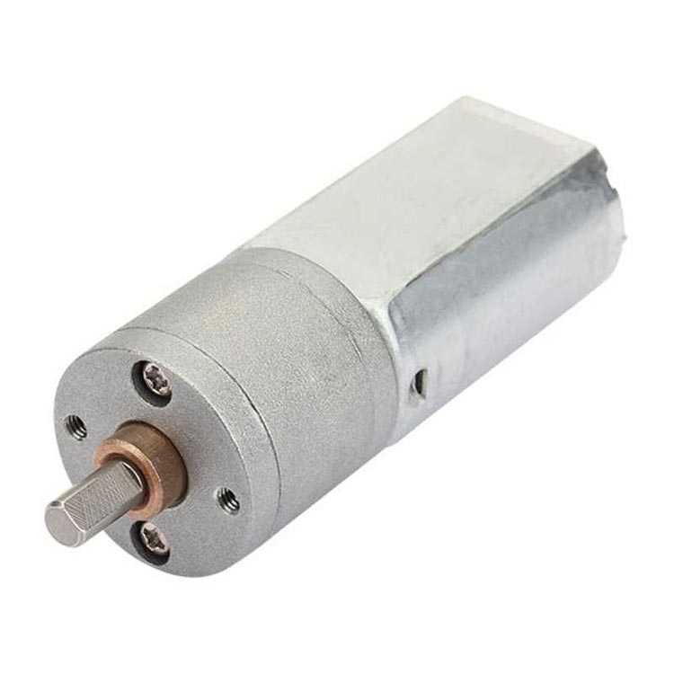 12V 1500 RPM 20mm Redüktörlü DC Motor