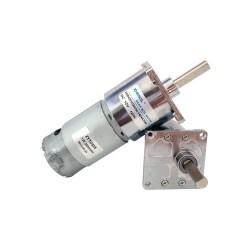 12V-24V 100 RPM 42mm Redüktörlü DC Motor - Thumbnail