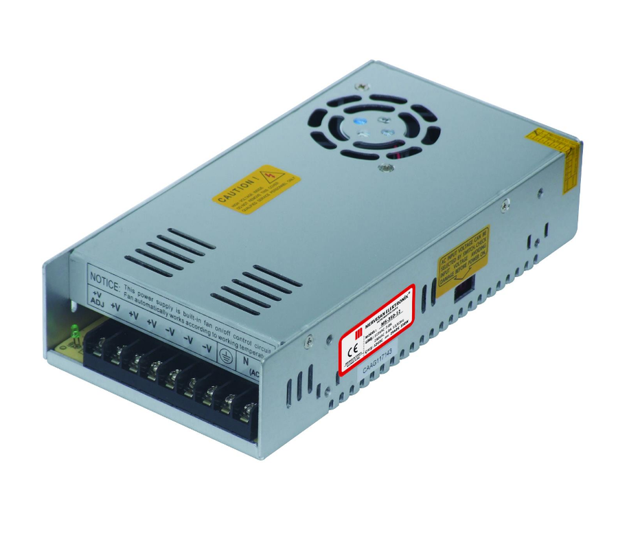 12V 29A Metal Kasa Switch Mod Adaptör - Fanlı - MT-350-12