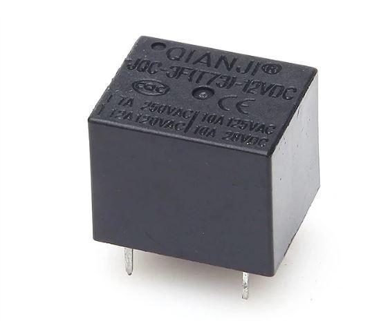 12V 7A Tek Kontak 5 Pinli JQC-3F(T73)-12VDC Röle